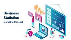 تیزر موشن گرافیک خدمات آمار Business Statistic