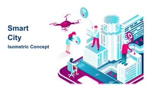 پروژه آماده موشن گرافیک شهر هوشمند Smart City