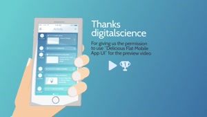 پروژه آماده تیزر موشن گرافیک معرفی اپلیکیشن Cartoony App Pro