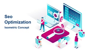 تیزر آماده موشن گرافیک خدمات سئو SEO Optimization
