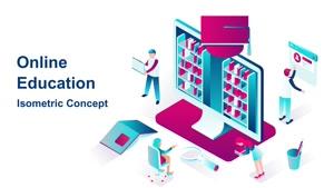 تیزر موشن گرافیک آموزش آنلاین Online Education