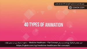 تیزر موشن گرافیک بهداشت و درمان Medicine Healthcare – Flat C