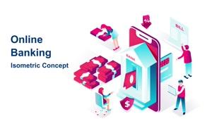 تیزر موشن گرافیک بانکداری آنلاین Online Banking