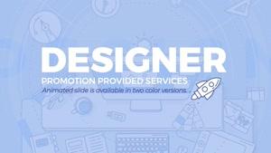 تیزر تبلیغاتی موشن گرافیک Designer Promo