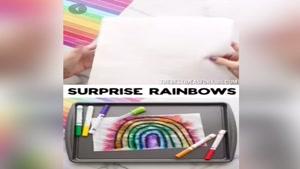 experiment - rainbow colors