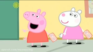 Peppa pig going to trip