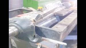 آسیاب پلاستیک و انواع مواد دهنه ۱۰۰ سیستم ابرویی
