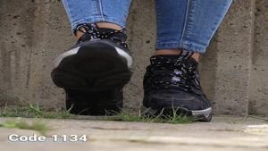 خرید کفش زنانه   قیمت و مشخصات کفش اسپرت آف وایت کد 1134
