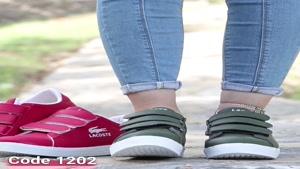 خرید کفش زنانه   قیمت و مشخصات کفش اسپرت لاکوست کد 1202