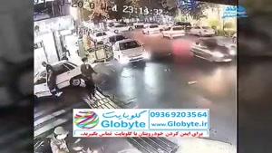 سرقت گوشی از دست راننده در تهران