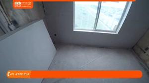 آموزش کناف سقف - نصب کناف در حمام