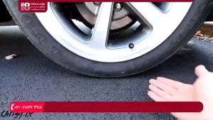 آموزش تعمیرجلوبندی ماشین - نحوه پنچرگیری چرخ خودرو