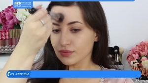 آموزش خودآرایی - کانتور و هایلات کردن صورت