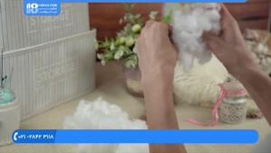 آموزش عروسک جورابی | دوخت عروسک دختر مدل شماره 1