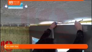 آموزش نصب آسمان مجازی - سقف کشسان سه بعدی