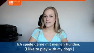 آموزش زبان آلمانی از پایه -  100 چیز که جنی را دوست دارد