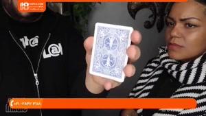 آموزش شعبده بازی - 10 حقه جادویی با کارت
