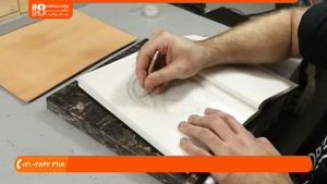 آموزش حکاکی روی چرم - حکاکی روی چرم ، استفاده از قلم های مخت
