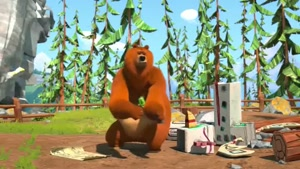 انیمیشن زیبای گریزی و موش کوچولوها قسمت 43