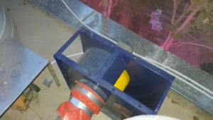 راه اندازی سانتریفیوژ کلاس  D  هودصنعتی و نصب کانال
