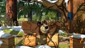 کارتون ماشا و میشا / بهار برای آقا خرسه