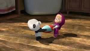 کارتون ماشا و یشا / پسر عموی کوچولو