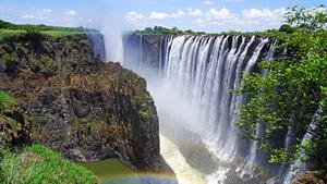 تصاویری دیدنی از آبشار ویکتوریا