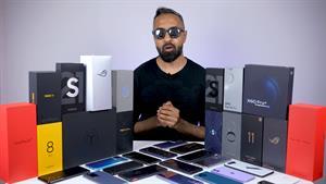 5 گوشی هوشمند برتر در سال 2021
