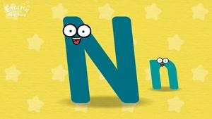 letter N song