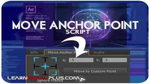 افزونه Anchor point برای افترافکت