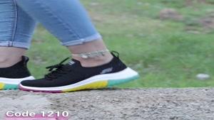 خرید کفش زنانه   قیمت و مشخصات کفش اسپرت اسکچرز کد 1210