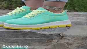 خرید کفش زنانه   قیمت و مشخصات کفش اسپرت فشیون لبخندی کد 114