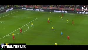 پرتغال و سوئد(مقدماتی جام جهانی2014)هتریک رونالدو دبل زلاتان