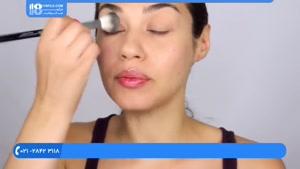 آموزش خودآرایی - آموزش آرایش آسان هرروز چشم