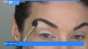 آموزش خودآرایی - آموزش آرایش چشم گربه ای