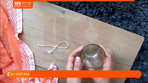 آموزش شمع سازی - ساخت شمع معطر و تزئینی داخل شیشه