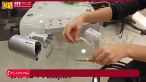 آموزش نصب دوربین مدار بسته - نحوه اتصال دوربین مداربسته