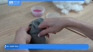 آموزش دوخت عروسک جورابی - آموزش دوخت عروسک بانی خرگوش