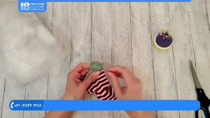 آموزش دوخت عروسک جورابی - آموزش دوخت عروسک گربه