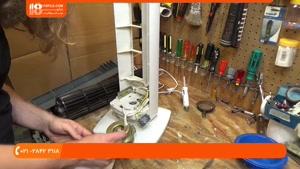 آموزش تعمیر پنکه سقفی - تمیزکاری و سرویس پنکه توربو
