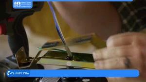 آموزش تعمیر پنکه سقفی - اتصال قطعات پنکه سقفی به یکدیگر