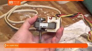 آموزش تعمیر پنکه سقفی - سرویس کردن و تمیزکاری پنکه دوقلو