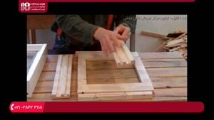 آموزش ساخت کندو عسل - ساخت کف کندو