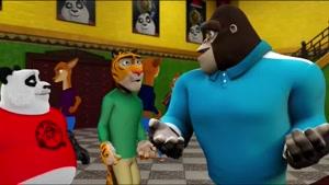 فیلم انیمیشن زیبای پاندا بر علیه آدم فضایی ها با دوبله فارسی