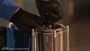 پمپ طبقاتی دستگاه تصفیه آب صنعتی شرکت آب پاکسازان