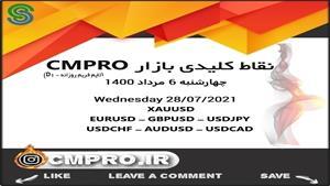 نقاط کلیدی خرید و فروش بازار CMPRO_ چهارشنبه 6 مرداد 1400