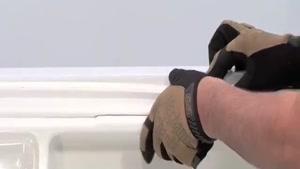 آموزش تعویض لاستیک یا نوار دور درب یخچال   westinghouserepai