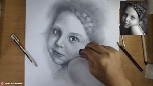 آموزش طراحی چهره کودک