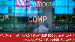 گزارش قبل بازار آمریکا -دوشنبه 8 شهریور 1400