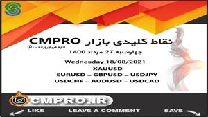 نقاط کلیدی خرید و فروش بازار CMPRO_ چهارشنبه 27 مرداد 1400